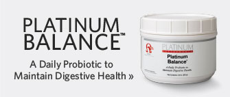 Platinum Balance - A Daily Probiotic to Maintain Digestive Health